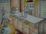 09 11  1   自宅のキッチン