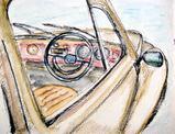 VWビートル運転席