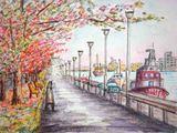 09 10 22  信濃川河畔の紅葉