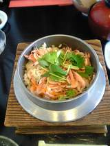 桜えびの釜飯2