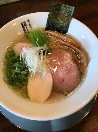 丸鶏塩らぁ麺