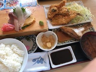地魚たっぷり蒲郡定食