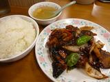 若鶏と茄子の味噌炒め定食