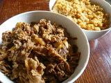牛肉+ご飯