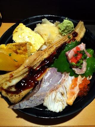 海鮮炙り丼