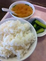 ご飯&スープ