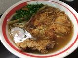 揚チキン麺