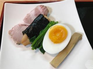 鶏油香る醤油つけ麺