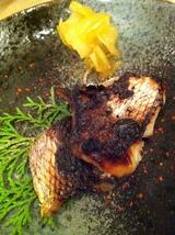 鯛の酒粕漬焼き