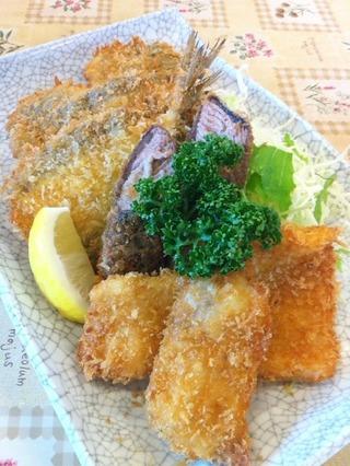 地魚海鮮フライ