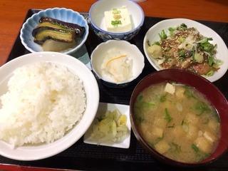 胡麻サバ定食