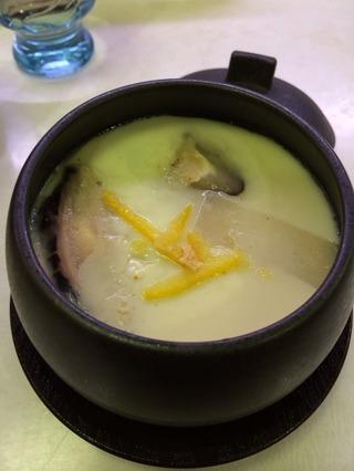 牡蠣茶碗蒸し
