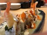 海老天トビッコロール寿司