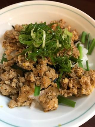 ミニ台湾丼