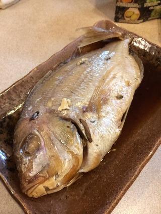 小鯛の煮付