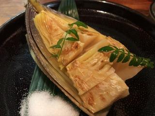 竹の子塩焼
