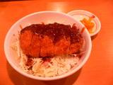ミニ味噌カツ丼