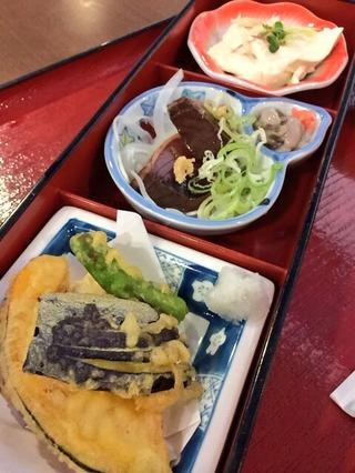 天ぷらカツオおぼろ豆腐