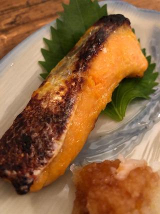 鮭の西京焼