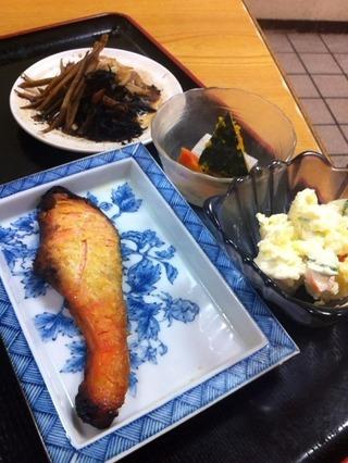 鮭西京焼定食