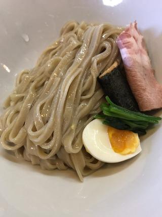 つけ麺煮干味噌白湯
