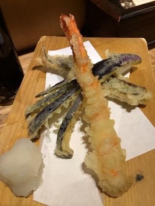 天ぷら3種盛り