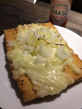 厚揚げマヨチーズ