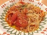 フレッシュトマトのスパゲッティ