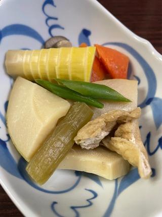 ふきと竹の子煮