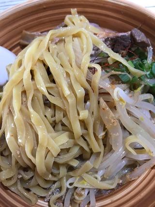 パスタde味噌冷麺