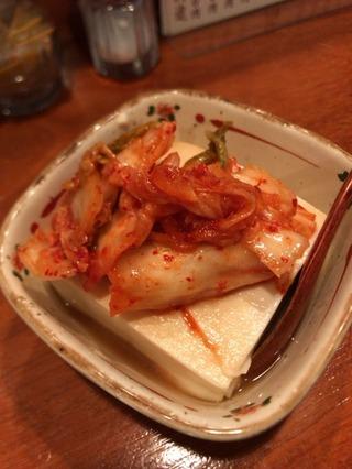 キムチ温豆腐