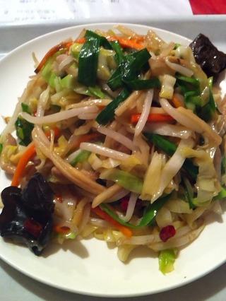多種類野菜炒め
