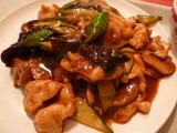 鶏肉と野菜の炒め