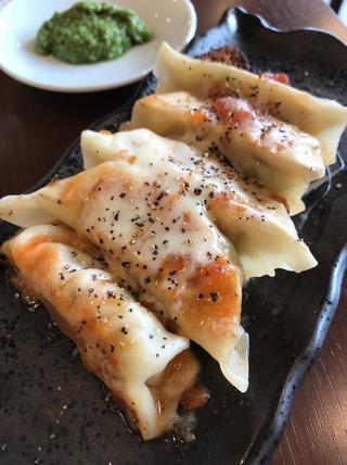 トマトモッツァレラチーズ餃子