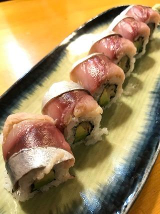 ガリさばロール寿司