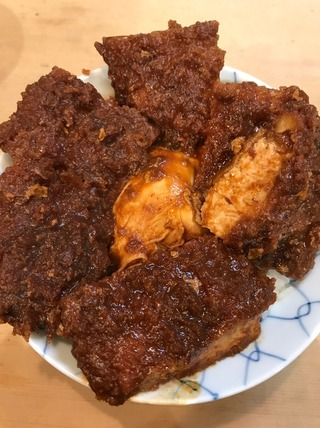 元祖味噌カツ丼
