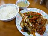 豚肉と五目野菜の広東風うま煮定食