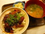 豚とろ角煮丼とん汁セット