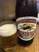瓶ビール中