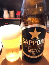瓶ビールサッポロ