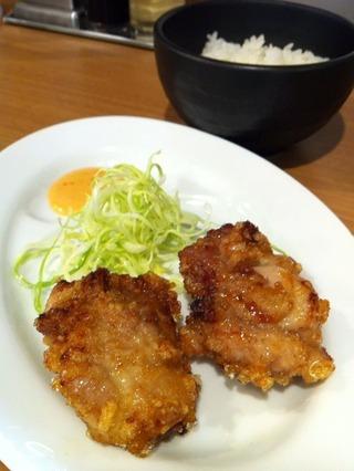 鶏唐マヨライス