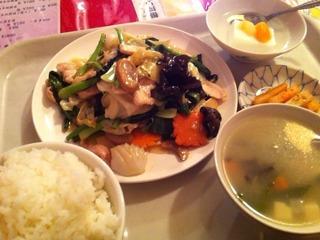 五目野菜炒め定食