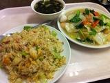 焼飯&五目野菜炒め