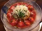 冷たいトマトの琥珀らぁ麺