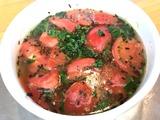 完熟トマトの汐つけ麺