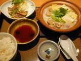桜島とりの水炊き定食