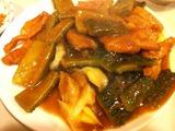 ゴーヤと豚肉炒め