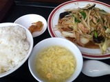 豚肉と五目野菜炒めセット