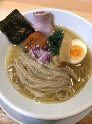 辛味噌鶏白湯