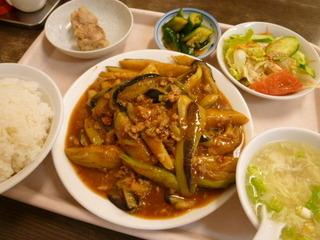 ナスの味噌辛子炒めセット